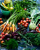 Fresh weggies and herbs