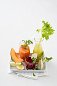 Vegetable juices and ingredients