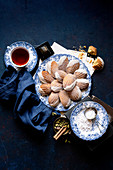 Fall Spiced Madeleines with Maple Glaze