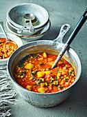 Marokkanische Gemüsesuppe