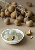 Longan-Früchte