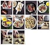 Canederli allo speck (Südtiroler Speckknödel, Italien) zubereiten