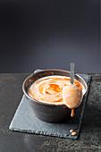Sauce aurora (bechamel sauce with tomato)