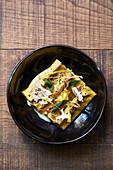 Cannelloni mit Blumenkohl und Fontina