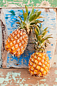 Pair of pineapples