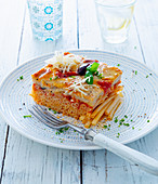 Pastitsio (pasta bake, Greece)