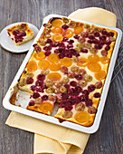 Fruit quark cake