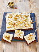 Coconut banana Cake