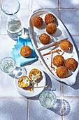 Arancini balls (Suppli al telefono)