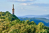 A view of the Mariensäule (statue of Mary), Trier, Rhineland-Palatinate, Germany