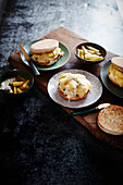 Tuna Melt Sandwich mit Frühlingszwiebel-Confit