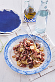 Galician style octopus with potatoes