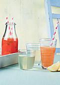 Watermelon Cooler Pink Lemonade Elderflower Cordial