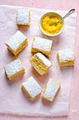 Zitronenschnitten mit Lemon Curd