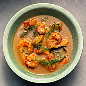 Asian Prawn Soup