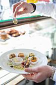Syrian desserts, 'Saliba' restaurant, Hamburg