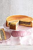 Poppyseed and sour cream cake