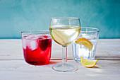 Soft drinks cordials