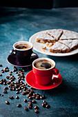 Espresso and Panforte