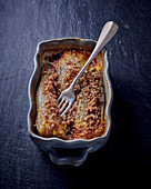 Chicory gratin with cheese