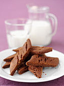 Schokoladen-Cola-Schnitten