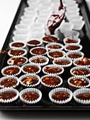 Florentines in chocolate cases