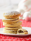 Half-moon biscuits for Christmas