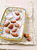 Pammelati (fried walnut and orange pastries, Italy)