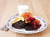 Swedish blood pudding