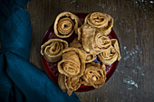 Wuthan al Gati (judge's ears), specialty pastries from Tunisia