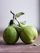 Two butter pears
