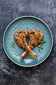 Lamb chops mit rosemary