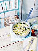 Zucchini-Zitronen-Risotto
