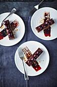 Dark chocolate and cherry bar