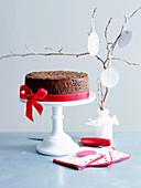 Irish Pudding Cake for Christmas