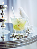 Lychee and Lime Muddle