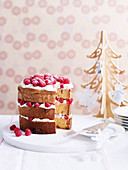 Panettone with Mascarpone and Berries