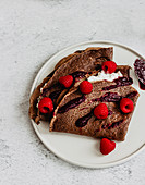 Cacao crepes