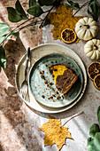 Pumpkin Cocoa Cake