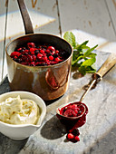 Red Fruits and Cream