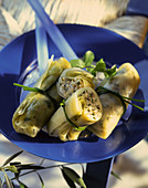 Greek vegetables rolls