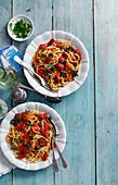 Naples spaghetti alla Puttanesca