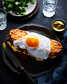 Duck Egg Croque Monsieur