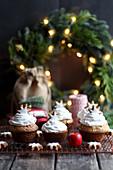 Weihnachtliche Zimtmuffins