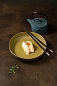 Nigiri sushi with butter fish (Japan)