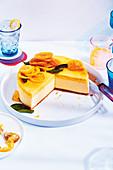 Gin tonic cheesecake