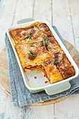Hearty French toast bake