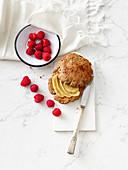Cookie-Burger zum Frühstück