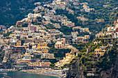 A view of Positano, Amalfi Coast, Campania, Italy