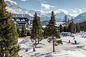 Switzerland, Engadin, St.Moritz: Luxury Hotel Suvretta House